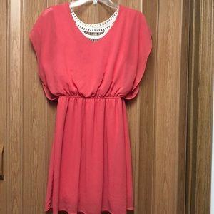 Pink/coral dress